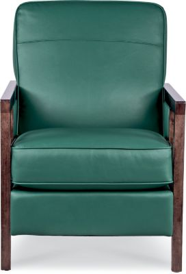 La-Z-Boy Edge Green 100% Leather Chair