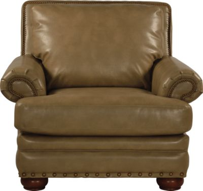 La-Z-Boy Brennan Tan Bonded Leather Chair