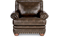 La-Z-Boy Brennan Chocolate Bonded Leather Chair
