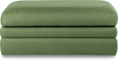 La-Z-Boy Nightlife Green Storage Ottoman