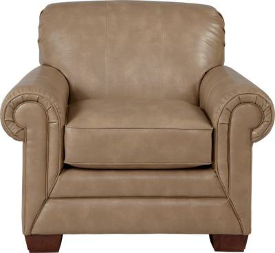 La-Z-Boy Mackenzie Tan Bonded Leather Chair
