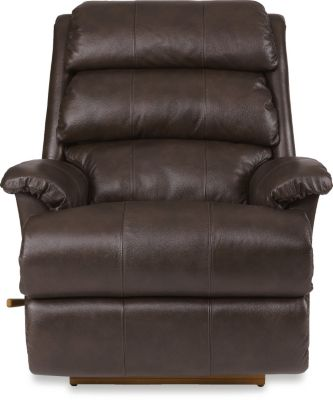 La-Z-Boy Astor Espresso Leather Rocker Recliner