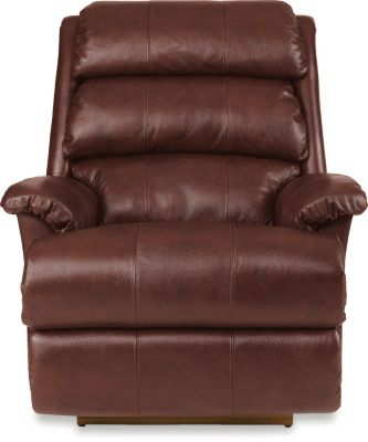 La-Z-Boy Astor Leather Power Rocker Recliner with Tilt Head