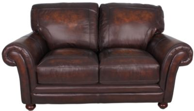 La-Z-Boy William 100% Leather Loveseat
