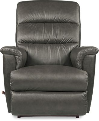 La-Z-Boy Tripoli Gray Leather Rocker Recliner