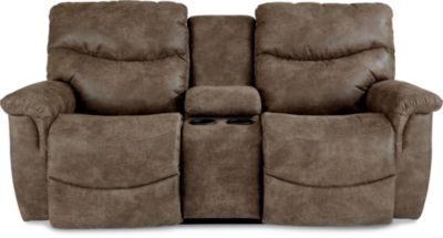 La-Z-Boy James Power Reclining Loveseat with Console