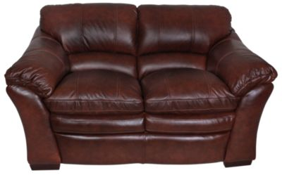 La-Z-Boy Burton 100% Leather Loveseat