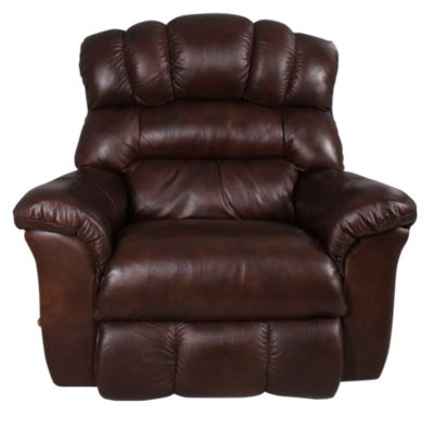 La Z Boy Crandell 100 Leather Rocker Recliner