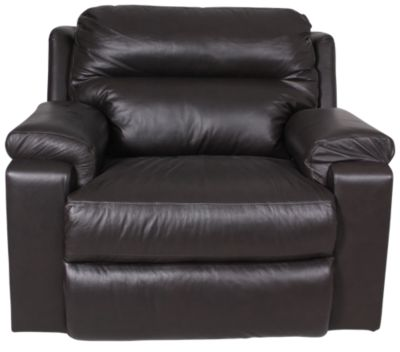 La-Z-Boy Cooper Leather Power Reclining Chair & 1/2