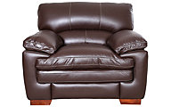 La-Z-Boy Dexter Chocolate 100% Leather Chair