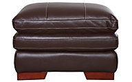La-Z-Boy Dexter Chocolate 100% Leather Ottoman