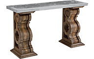 Magnolia Home Primitive Zinc Top Sofa Table