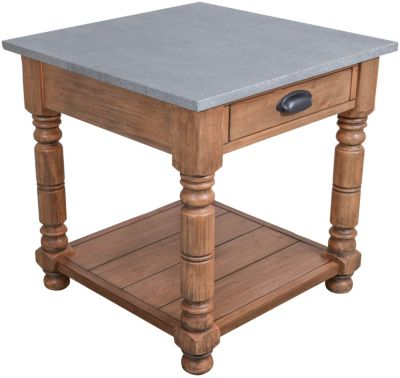 Magnolia Home Zinc Top End Table