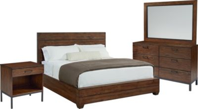 Magnolia Home Industrial 4-Piece King Bedroom Set