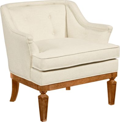 Magnolia Home Cotillion Ivory Club Chair