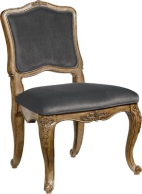 Magnolia Home Flora Gray Armless Chair