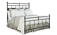 Magnolia Home Traditional King Metal Trellis Bed