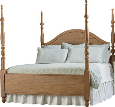 Magnolia Home Primitive Queen Poster Bed