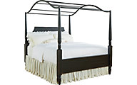 Magnolia Home Farmhouse Carriage Queen Canopy Bed