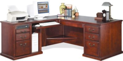 Martin Furniture Huntington Left-Facing L-Shaped Desk