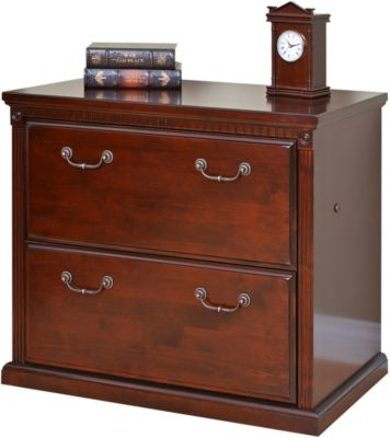 Martin Furniture Huntington Cherry Two-Drawer Lateral File