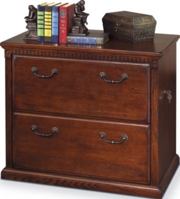 Martin Furniture Huntington Burnished Two-Drawer Lateral File