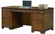 Martin Furniture Kensington Double Pedestal Desk