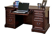 Martin Furniture Mount View Double Pedestal Desk