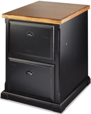 Martin Furniture Southampton Onyx Black 2-Drawer File