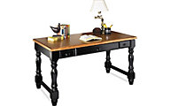 Martin Furniture Southampton Onyx Black Writing Desk