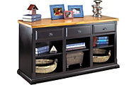 Martin Furniture Southhampton Onyx Black 3-Drawer Console