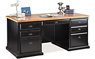 Martin Furniture Southampton Double Pedestal Executive Desk