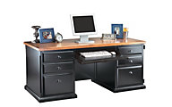 Martin Furniture Southampton Double Pedestal Computer Desk