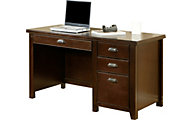 Martin Furniture Tribeca Loft Cherry Single Pedestal Desk