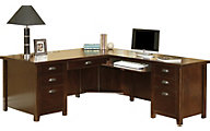 Martin Furniture Tribeca Loft Cherry RHF L-Shaped Desk