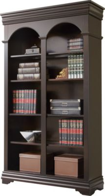 Martin Furniture Beaumont Office Double Open Bookcase