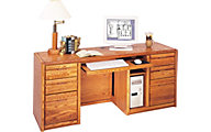 Martin Furniture Contemporary Office Computer Credenza