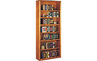 Martin Furniture Contemporary Office 7-Shelf Bookcase