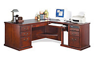Martin Furniture Huntington Right-Facing L-Shaped Desk