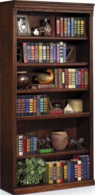 Martin Furniture Huntington Burnished 72-Inch Bookcase