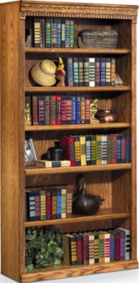 Martin Furniture Huntington Wheat 72-Inch Bookcase