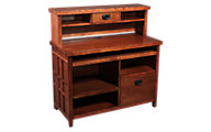 Martin Furniture Mission Pasadena Credenza & Hutch