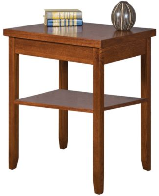 Martin Furniture Mission Pasadena Corner Table