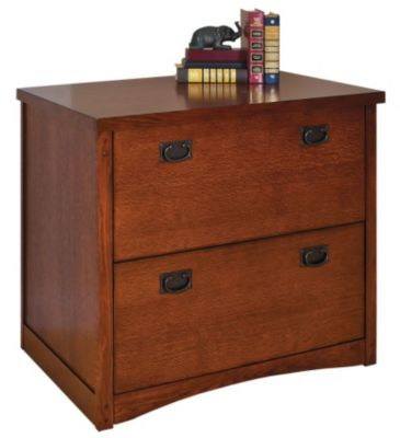 Martin Furniture Mission Pasadena Lateral File Cabinet