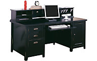 Martin Furniture Tribeca Loft Computer Desk & Hutch