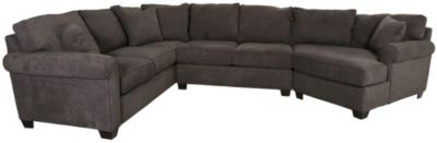 Max Home Cooper Right-Side Cuddler 3-Piece Sectional