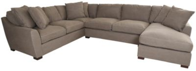 Max Home Darwin Right-Side Chaise 3-Piece Sectional
