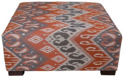 Max Home 9JH2 Collection Square Cocktail Ottoman