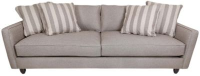 Max Home Stripe Collection Extra-Large Sofa