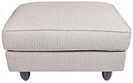 Max Home Stripe Collection Bench Ottoman